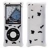 Product Image for the iPod Nano 4G Bubble Case, White/Black