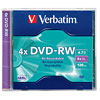 Product Image for the DVD-RW in Jewel Case, 4X 4.7GB, Verbatim