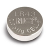Product Image for the LR43 Button Cell Battery, 10 Pack