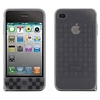 Product Image for the iPhone 4 (ATT) Cube Case w/Strap, Black, Bone Collection