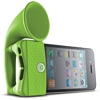 Product Image for the  Bone Horn Stand, iPhone 4/4S Portable Amplifier, Green