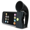 Product Image for the Horn Stand, iPod Touch 4th Generation Portable Amplifier, Black