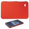 Product Image for the Rubberized Polycarbonate Case for Samsung GALAXY Tab, Red
