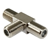 Product Image for the Coaxial Type F (Female to Female / Female) T Adapter