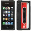 Product Image for the Silicone iPhone 4 Vintage Cassette Case, ATT/VZ