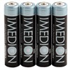 Product Image for the  IMEDION Rechargeable AAA Battery, NiMH, Pre-Charged, 950mAH, 1.2V, 4 Pack