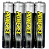 Product Image for the PowerEx Rechargeable AAA Battery, NiMH, 1000mAH, 1.2V, 4 Pack