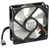 Product Image for the  Silent8 80mm Silent Case Fan, 3 Pin Molex, Black