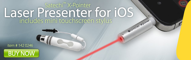 142 0246, X-Pointer Laser Presenter for iOS