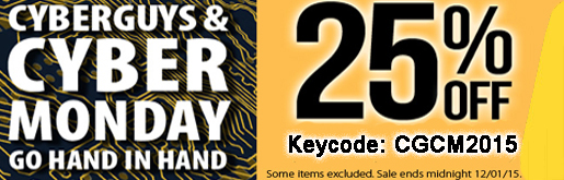 Cyber Monday Site wide Sale 25% off