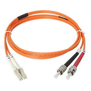 180 1011 - FIBER OPTIC LC/ST MULTIMODE, DUPLEX, 1 METER CABLE - is no longer available at Cyberguys.com