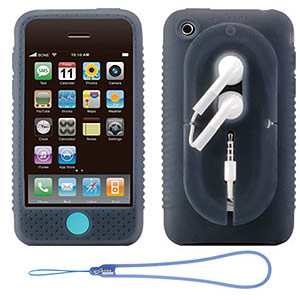 215 0749 - BONE IPHONE3GS CASE WRAP W/STRAP BLU, PH08023-B - is no longer available at Cyberguys.com