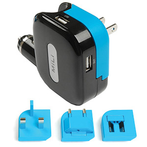 131 0713 - MILI UNIVERSAL CHARGER W/4 ADAPTERS - is no longer available at Cyberguys.com