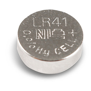 161 0347 - LR41 BUTTON CELL ALKALINE BATTERY, 10 PACK - is no longer available at Cyberguys.com