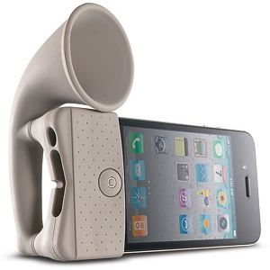 215 0931 - BONE HORN STAND, IPHONE 4 AMPLIFIER, CLAY - is no longer available at Cyberguys.com
