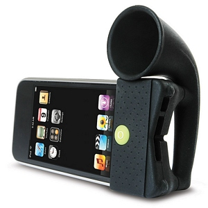 215 0943 - BONE HORN STAND, IPOD TOUCH 4G AMPLIFIER, BLACK - is no longer available at Cyberguys.com