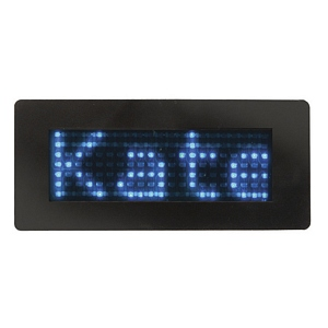 250 1747 - SCROLLING LED NAME BADGE, BLUE LEDS - is no longer available at Cyberguys.com