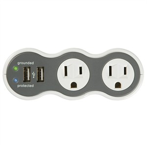 112 0253 - POWERCURVE MOBILE SURGE PROTECTOR W/2 USB PORTS - is no longer available at Cyberguys.com
