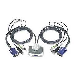 Usb Audio Kvm Switch 2 Port Iogear Gcs632u