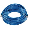 Product Image for the Cat6a 500Mhz STP Network Patch Cable, Booted, Blue, 50ft