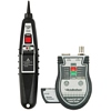 Product Image for the Pocket Cat RJ45/Coax Cable Tester w/Lighted Probe, Black