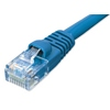 Product Image for the Cat6a 500Mhz UTP Network Patch Cable, Booted, Blue, 100ft