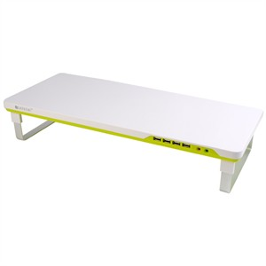 111 0150 - SATECHI SMART MONITOR STAND, WHITE/GREEN - is no longer available at Cyberguys.com