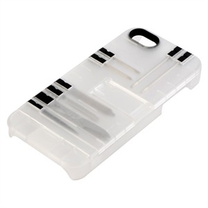 215 1532 - IN1 CASE FOR IPHONE 5/5S, CLEAR W/BLACK TOOLS - is no longer available at Cyberguys.com