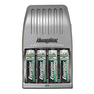 141 0338 - ENERGIZER 15 MINUTE BATTERY CHARGER, CH15MNCP-4 - is no longer available at Cyberguys.com