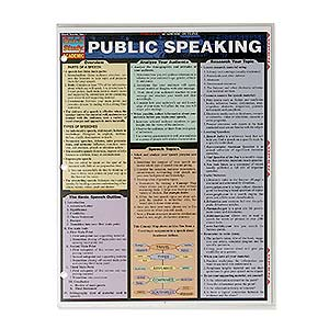 170 3588 - PUBLIC SPEAKING QUICK STUDY GUIDE - is no longer available at Cyberguys.com
