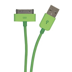 131 0382 - IPHONE/IPOD/IPAD MFI CABLE, 3FT, GREEN - is no longer available at Cyberguys.com
