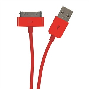 131 0384 - IPHONE/IPOD/IPAD MFI CABLE, 3FT, RED - is no longer available at Cyberguys.com