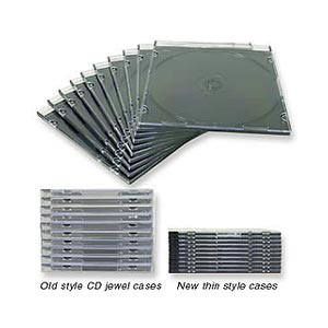134 0145 - ULTRA SLIM JEWEL CASE, 10 PACK, CLEAR - is no longer available at Cyberguys.com