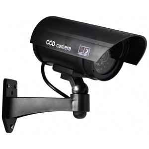 204 0936 - 5IN DUMMY CAMERA, OUTDOOR IN CIRCULAR HOUSING, BLK - is no longer available at Cyberguys.com