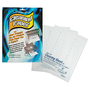 114 0024 - 4 IN 1 CLEANING PAPER FOR LASER/INK JET PRINTERS - is no longer available at Cyberguys.com