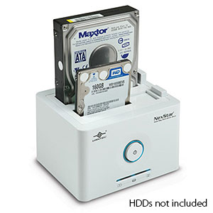 163 0358 - NEXSTAR DUAL BAY 2.5/3.5IN SATA TO USB/ESATA DOCK - is no longer available at Cyberguys.com