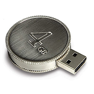 245 0893 - LACIE CURRENTKEY USB 2.0 FLASH DRIVE, 4GB - is no longer available at Cyberguys.com