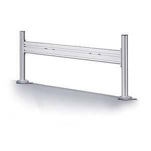 111 0300 - FLAT PANEL MONITOR SHELF WITH FOUR-GROOVE, 40IN - is no longer available at Cyberguys.com