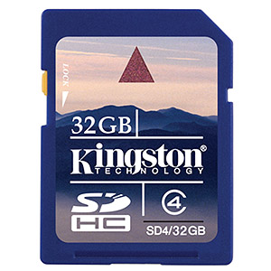 204 0960 - KINGSTON SDHC HIGH CAP. FLASH CARD, 32GB CLASS 4 - is no longer available at Cyberguys.com