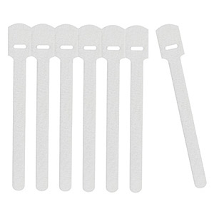 113 0093 - RIP-TIE MINI FUZZY ZIP TIES, WHITE - is no longer available at Cyberguys.com