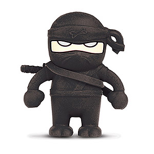 245 0912 - BONE NINJA FLASH DRIVE 4GB BLACK, DR10011-4BK - is no longer available at Cyberguys.com