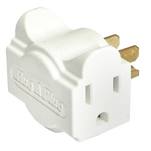 112 0130 - HUG-A-PLUG DUAL OUTLET WALL ADAPTER, 6PK, WHITE - is no longer available at Cyberguys.com