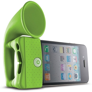 215 0932 - BONE HORN STAND, IPHONE 4 AMPLIFIER, GREEN - is no longer available at Cyberguys.com