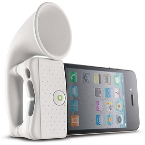 215 0934 - BONE HORN STAND, IPHONE 4 AMPLIFIER, WHITE - is no longer available at Cyberguys.com