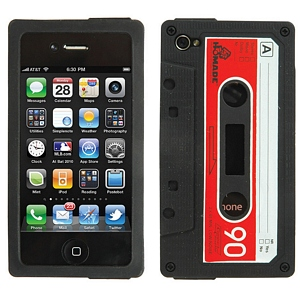 215 0950 - SILICONE IPHONE4 CASE, VINTAGE CASSETTE STYLE - is no longer available at Cyberguys.com