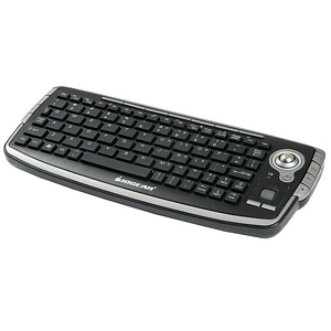 138 0127 - WIRELESS HOME ENTMNT/MEDIA KEYBOARD W/TRACKBALL - is no longer available at Cyberguys.com