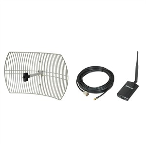 202 0337 - 1000MW USB ADAPTER W/24DBI GRID ANTENNA KIT - is no longer available at Cyberguys.com