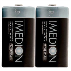 141 0490 - D 9500MAH PRE-CHARGED NIMH BATTERIES, 2 PACK - is no longer available at Cyberguys.com