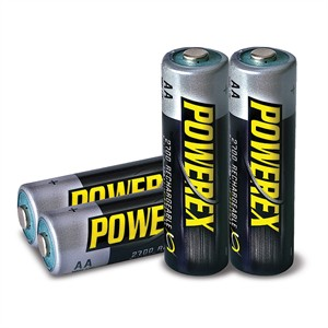 141 0493 - AA 2700MAH RECHARGEABLE NIMH BATTERIES, 4 PACK - is no longer available at Cyberguys.com