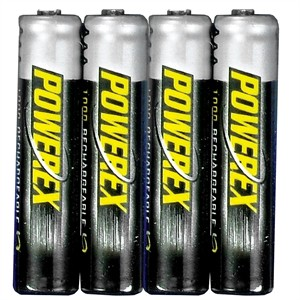 141 0494 - AAA 1000MAH RECHARGEABLE NIMH BATTERIES, 4 PACK - is no longer available at Cyberguys.com